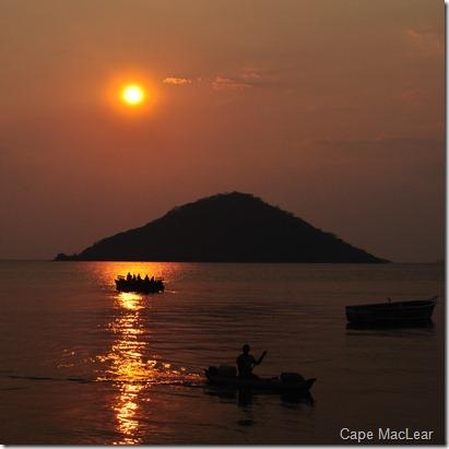 Cape MacLear, el tiempo parecía pararse un instante en las puestas de sol...