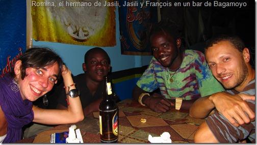 Romina, el hermano de Jasili, Jasili y François